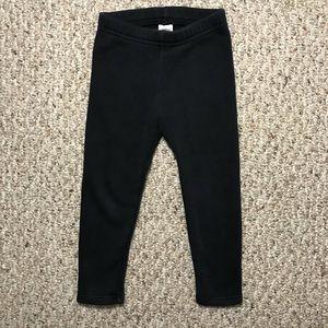 Oshkosh girl's fleece lined leggings sz 2t